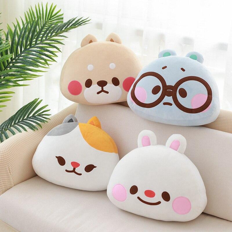 ins hot high quality TonTon Friends Plush Pillow Sofa Cushion Tobi Winnie Yuta Bella super cute Shiba Inu Birthday Gift for kids